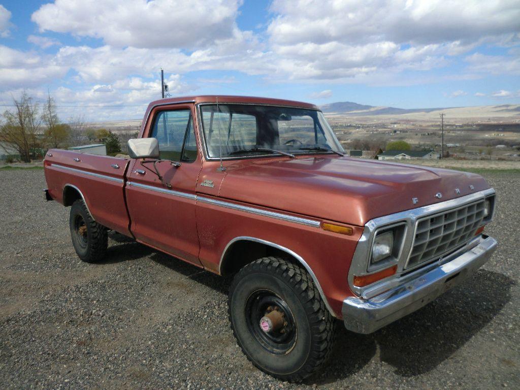 1979 ford f350 4 4 pickup truck no reserve ranger