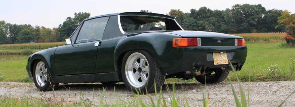 1970 Porsche 914 V8