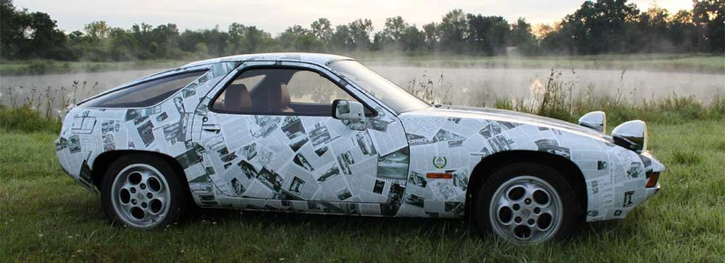 1978 Porsche 928 Press Tribute Art Car