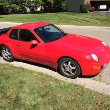 1993 Porsche 968 – $5995 (Westerville)