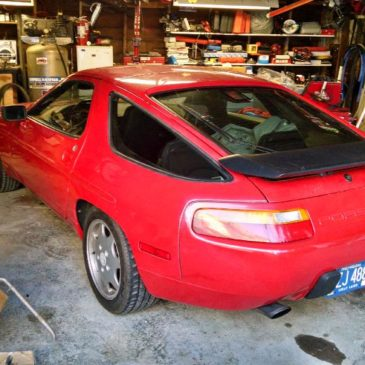 Restoration Wednesday, Porsche 928 S4