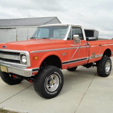 1970 CHEVY C20 Big Block 400 4×4 PICKUP TRUCK – $7500 (Southern Wisconsin)