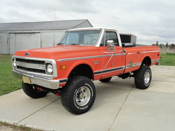 1970 Chevy C20 Big Block 400 4x4 Pickup Truck 7500 Southern Wisconsin on 1972 chevy c10 for sale craigslist