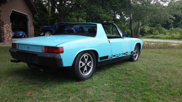 1973 Porsche 914 – $3800 (adrian)