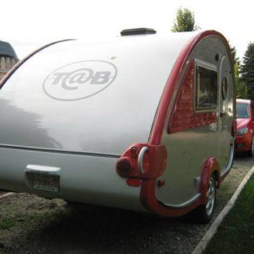 2007 T@B TearDrop Camping Trailer – $9100 (Hartland)