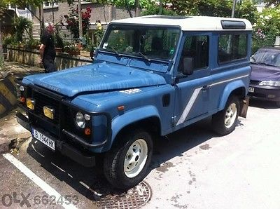 1989 Land Rover 90 Station Wagon 2.5td Legal Import
