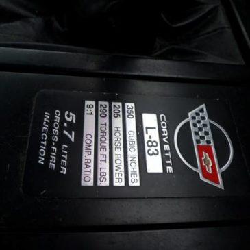 Corvette – $3900