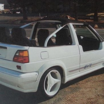 Show Car 1989 Volkswagen GTI EVII