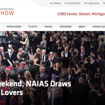 Detroit Auto Show, No Go