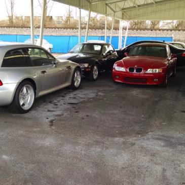 Enthusiast Auto, a Shipload of BMWs