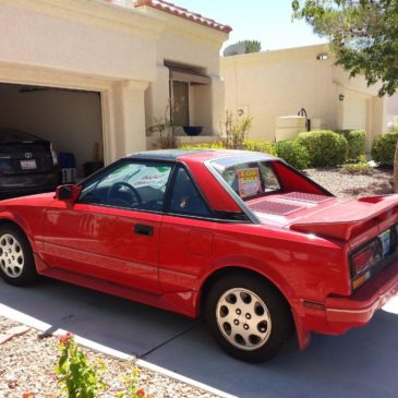 1988 Toyota MR2 Supercharged with T-Bar