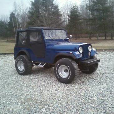 1971 Jeep CJ5 – $8500
