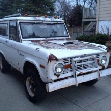 1970 Ford Bronco Sport 4X4 UNCUT 87,000 Original Miles Must Sell – $8900 (ROCKFORD)