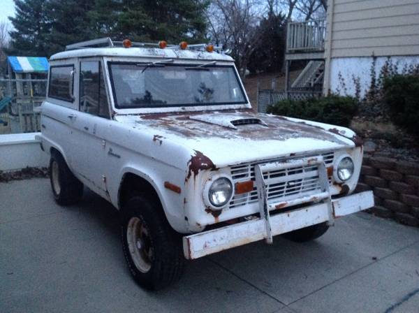 1970 Ford Bronco Sport 4X4 UNCUT 87,000 Original Miles ...