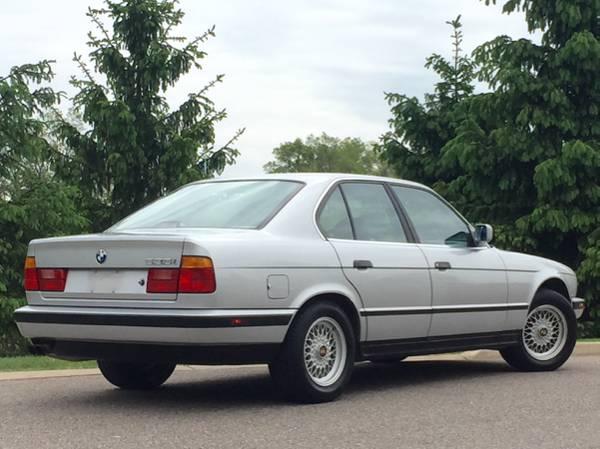 1990 bmw 535i manual transmission low miles 6900 ann. Black Bedroom Furniture Sets. Home Design Ideas