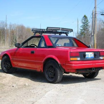 1986 Toyota MR2 – good rally-x car or Daily Driver AW11 – $3100 (Plymouth)