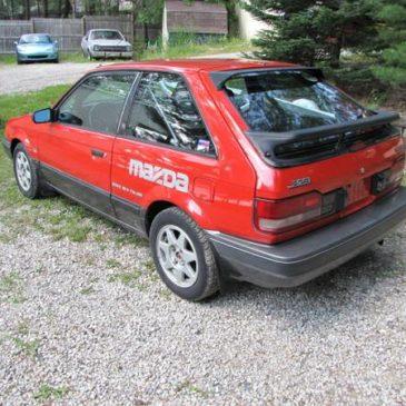 1988 Mazda 323 GTX – $2800 (traverse city)