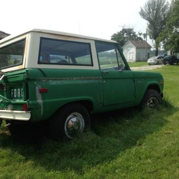 RARE 1971 Bronco – $2500 (Troy)
