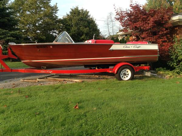 1960 Chris Craft Ski Boat 10000 St Clair Groosh S Garage