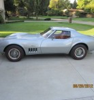 1969 Corvette Coupe Silver 75,000 miles - $21500 (Orion Township)