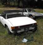 The Same Four Porsche 914s Two Seasons Later and a Town Over  - $4500 (Copemish)