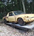 Yard Find Porsche 914s - $850 and $400 (New Boston and Dexter)
