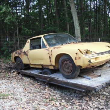 Yard Find Porsche 914s – $850 and $400 (New Boston and Dexter)