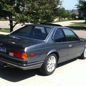 1983 BMW 635 – $8750 (Rochester)