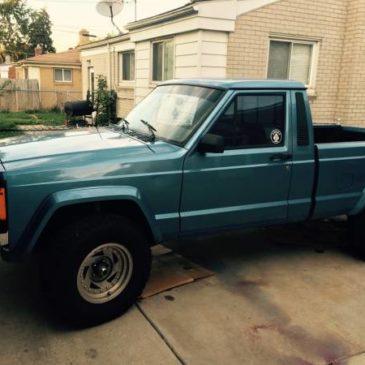 Jeep Comanche 1988 pickup truck