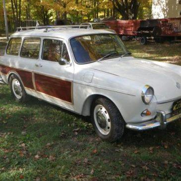 1968 Volkswagen Type 3 2 Door Sedan Squareback Wagon – $7900 (Mancelona)