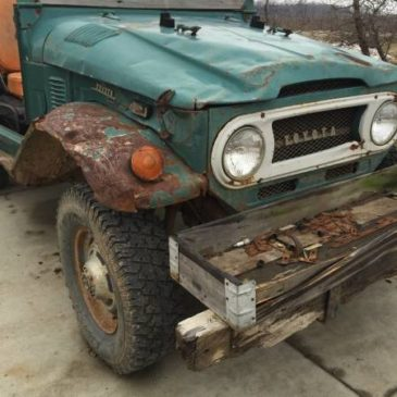 1972 Toyota Land Cruiser FJ40 – $1900 (Grand Rapids , MI)