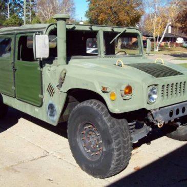 1985 M998 Militay Hummer HMMWV – $20000