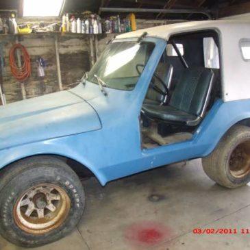 Parmley Jeep 1970s Very Rare vintage