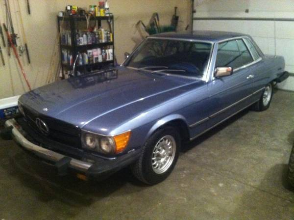 1979 mercedes benz 450slc 4000 fort wayne groosh 39 s for Fort wayne mercedes benz dealership
