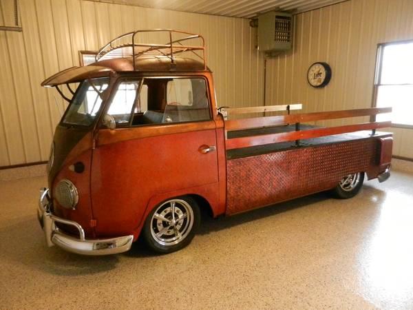 1959 Vw Truck Volkswagen Vanagon Single Cab Custom Hot Rod