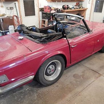 1971 Triumph TR6 convert. – $1500 (Shelby Township)