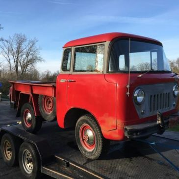 1957 Jeep Willy's FC-150 4X4 Rare Project (Orchard lake)