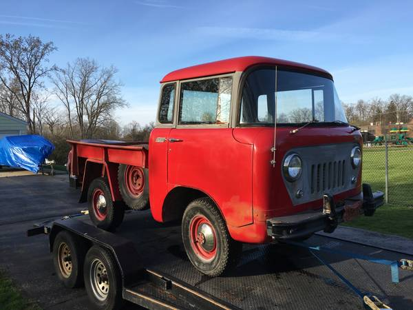 1957 Jeep Willy S Fc 150 4x4 Rare Project Orchard Lake Groosh S Garage