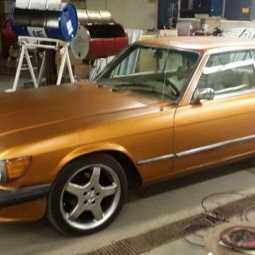 1974 Mercedes-Benz 450SLC (Benton Harbor)