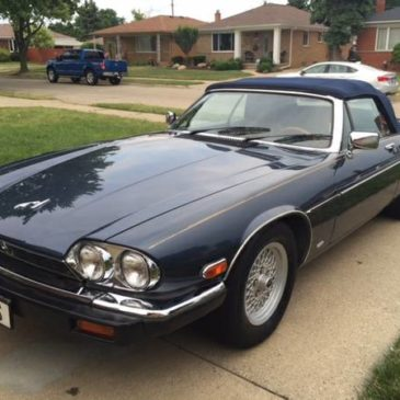 1988 Jaguar XJS Convertible Low Miles – $5000 (Warren)