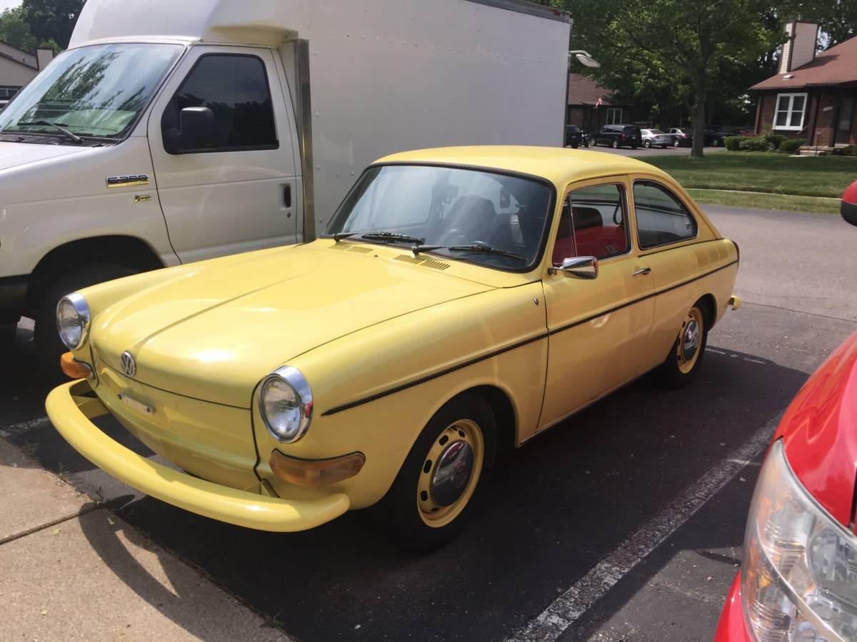 1969 VW TYPE 3 FASTBACK