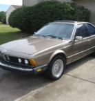 1984 BMW 633 CSI, 5 Speed - $2500 (Romulus