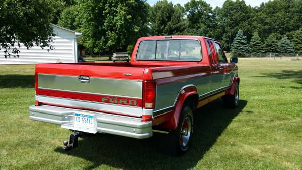 1985 Ford F250 4x4 Supercab Diesel