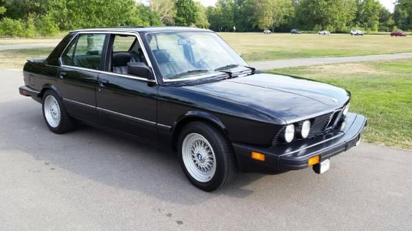 1988 BMW 528e – $7600