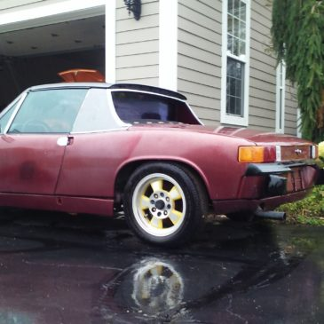 Restoration Wednesday, the 1.8 914 Gets New Wheels