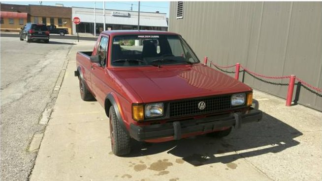 1982 VW Turbo Diesel Pickup – $8500 (Traverse City, MI ...