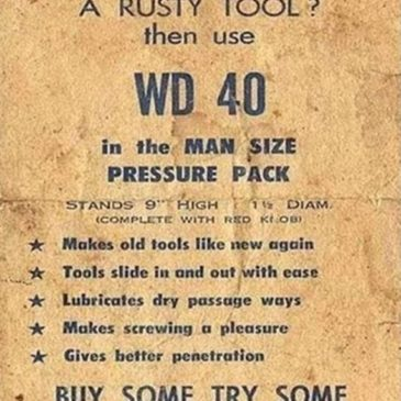 WD 40 Ad from 1960's