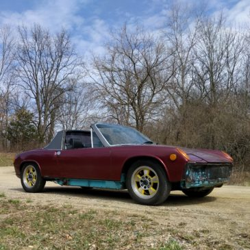 Restoration Wednesday – Exhaust Leaks, Speedo Gear Seals, Driving the 914 1.8