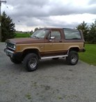 1984 Ford Bronco II  XLT, Original Owner