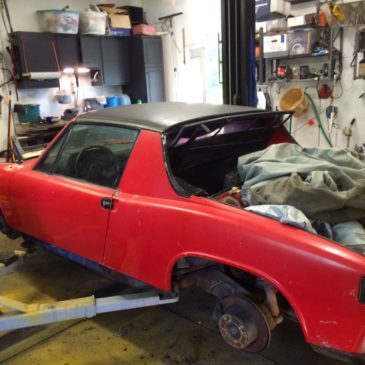 1971 Porsche 914 1.7 – Get Your Voltmeter Out – No Reserve in A2